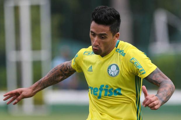"""Cacalo: """"A relação entre custo e benefício"""" Cesar Greco / Agência Palmeiras/Divulgação/Agência Palmeiras/Divulgação"""