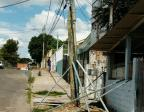 Após troca de poste, comunidade de Porto Alegre aguarda reconstrução na rede de esgoto Arquivo pessoal/Leitor/DG