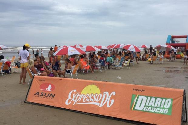 Expresso DG se despede da praia com final de semana de atrações em Cidreira Paula Martins/Arquivo pessoal