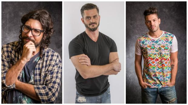 Gaúcho no paredão triplo e estreia do Big Fone: saiba como se formou a berlinda da semana no BBB 17 montagem sobre fotos de TV Globo/