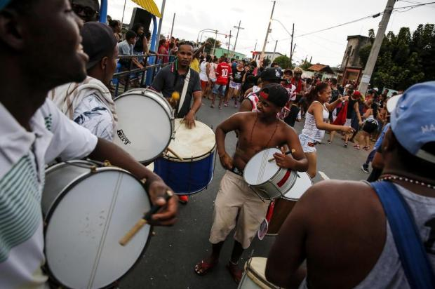 Blocos animam Carnaval na Grande Cruzeiro, em Porto Alegre Mateus Bruxel/Agencia RBS