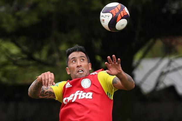"""Guerrinha: """"Lucas Barrios é uma convicção da direção tricolor"""" Divulgação/Palmeiras"""