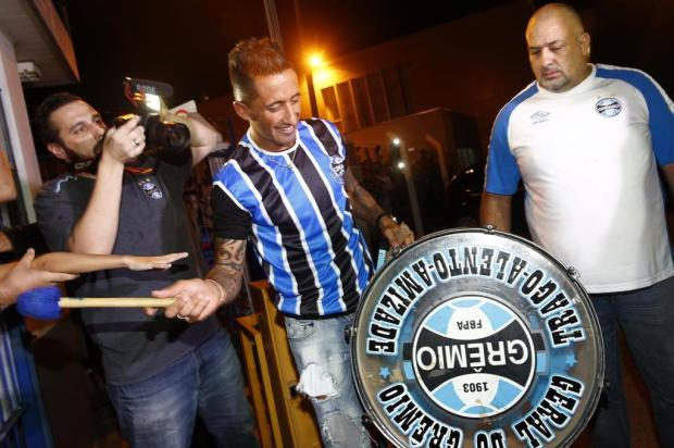 """Cacalo: """"Escalação do Grêmio para o Gre-Nal"""" Camila Domingues/Especial"""