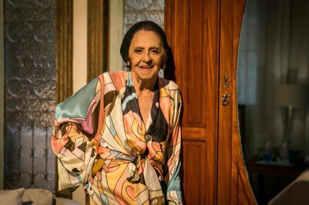 """""""Sol Nascente"""": Sinhá é desmascarada e sequestra Tanaka no penúltimo capítulo Raquel Cunha/TV Globo/Divulgação"""