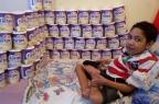 Estoque de leite especial de Victor está cheio até abril graças a doações Arquivo pessoal/Leitor/DG