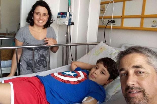 Menino de nove anos precisa de doadores de sangue e medula óssea para tratar doença rara Arquivo pessoal/Leitor/DG