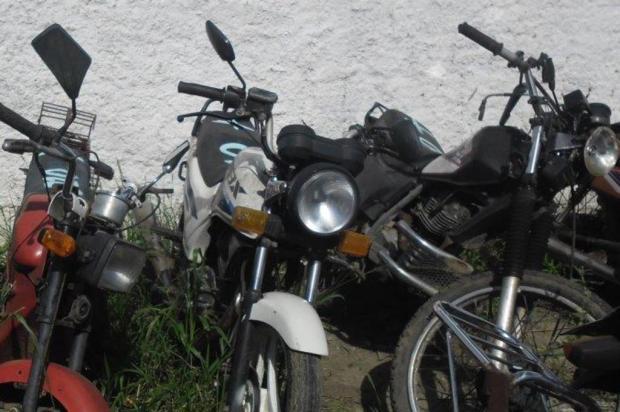 Detran leiloa mais de 200 motos a partir de R$ 450no Interior do Estado Divulgação/Marciano Barbieri