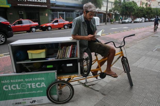 Carioca percorrerá a América do Sul com biblioteca ambulante Tadeu Vilani/Agencia RBS
