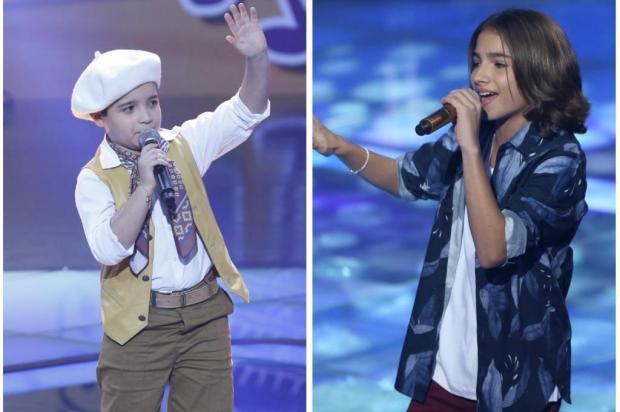 Gaúchos falam da expectativa para a semifinal do The Voice Kids TV Globo/Divulgação