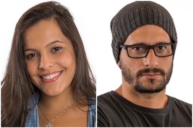 """""""BBB 17"""": enquetes apontam quem vai ser eliminado no paredão duplo entre Emilly e Daniel Montagem sobre fotos do GShow/"""