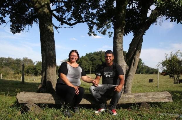 Corações Solitários uniu casal de Nova Santa Rita Tadeu Vilani/Agencia RBS