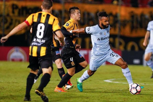 Pedro Ernesto Denardin: grande empate do Grêmio Lucas Uebel,Grêmio/Divulgação