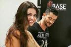"""Ex-BBB Marcos posa com morena e fãs criticam: """"Fazendo ciúme na Emilly"""" Reprodução / Instagram / Marcos Harter Amor Eterno/Instagram / Marcos Harter Amor Eterno"""