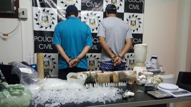 Em uma semana, polícia descobre segundo laboratório de drogas no Vale do Sinos Polícia Civil / Divulgação/Divulgação