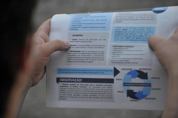 Inscrições para o Enem começam hoje: veja o que os candidatos devem saber  Bruno Alencastro/Agencia RBS