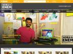Enem 2018: confira 10 ferramentas para ajudar nos estudos online Reprodução / Hora do Enem/Hora do Enem