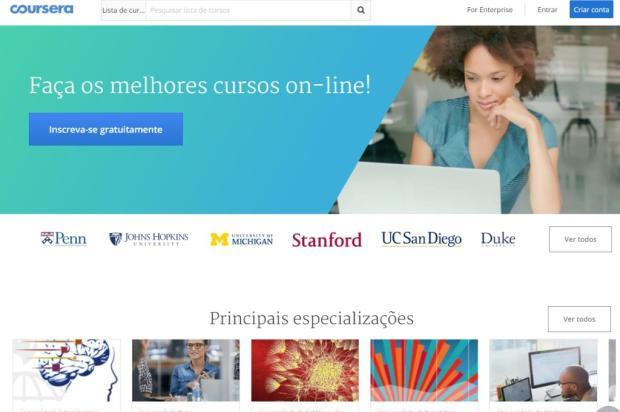Conheça cursos online gratuitos para turbinar seu currículo Reprodução / Coursera/Coursera