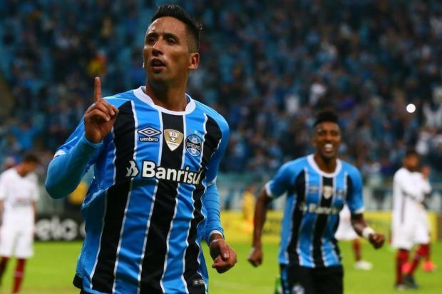 """Guerrinha: """"Grêmio confirma o retorno do bom futebol"""" Lauro Alves/Agencia RBS"""