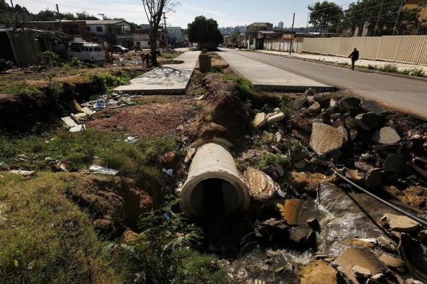 Obra para duplicação da Avenida Tronco pode parar novamente em Porto Alegre Mateus Bruxel/Agencia RBS