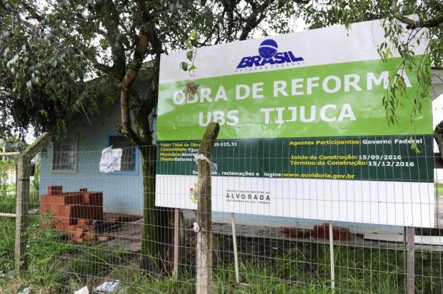 Reforma em posto de saúde de Alvorada está há seis meses parada Ronaldo Bernardi/Agencia RBS