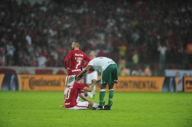 """Zé Victor Castiel: """"Foi um castigo forte pelo que o Inter mostrou"""" André Ávila/Agencia RBS"""