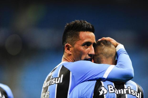 "Pedro Ernesto: ""Está tudo dando certo para o Grêmio"" Félix Zucco/Agencia RBS"