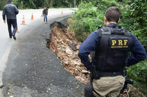 Vai para a Serra no final de semana? Confira a situação das estradas depois das chuvas Divulgação/PRF