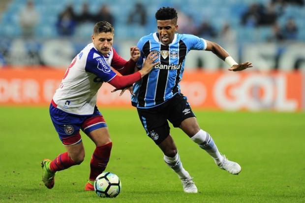 """Guerrinha: """"Grêmio teve mais sorte do que juízo contra o Bahia"""" André Ávila/Agencia RBS"""