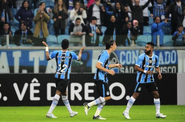 """Pedro Ernesto: """"Por um jeito ou por outro, o Grêmio alcança os seus objetivos"""" André Ávila/Agencia RBS"""