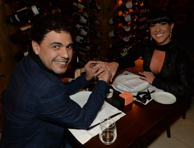 Zezé Di Camargo pede a namorada, Graciele Lacerda, em casamento Francisco Cepeda / AgNews/AgNews