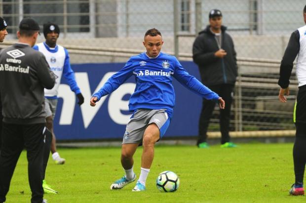 """Guerrinha: """"É jogo para três pontos"""" Bruno Alencastro/Agencia RBS"""