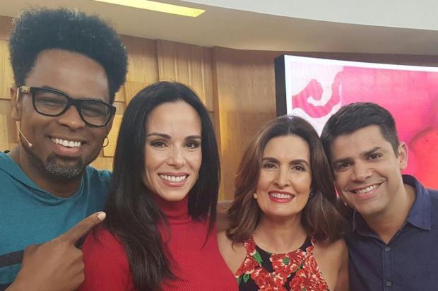 """Recém-contratado, Manoel Soares apresenta o """"Encontro com Fátima Bernardes"""" pela primeira vez Divulgação/Divulgação"""
