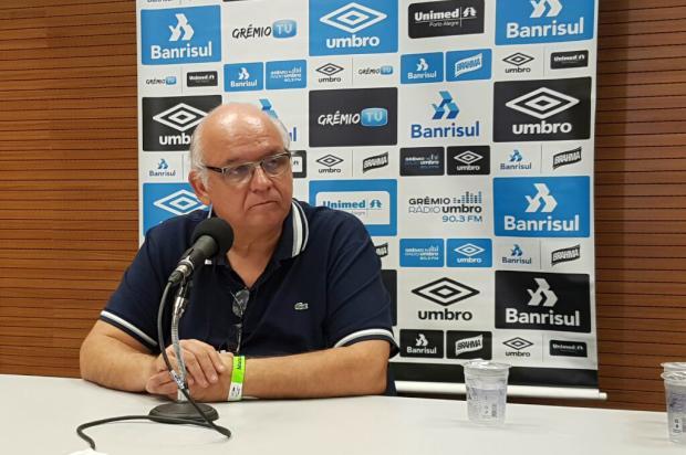 """Cacalo: """" O presidente precisa cuidar da saúde financeira do clube"""" Rodrigo Oliveira / Agência RBS/Agência RBS"""