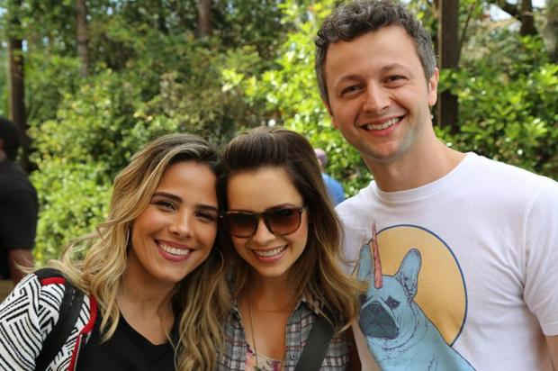 Wanessa Camargo nega rivalidade e revela que sempre foi fã de Sandy Thiago Fontolan/GShow