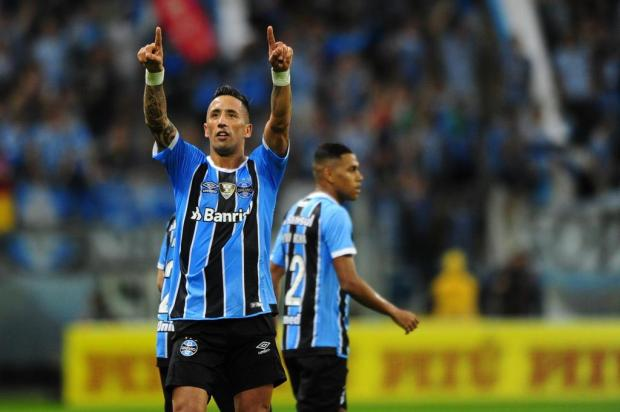 """Guerrinha: """"Grêmio liquidou a fatura"""" Félix Zucco/Agencia RBS"""