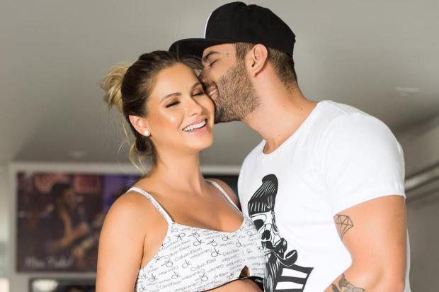 Gusttavo Lima anuncia a chegada de seu primeiro filho, Gabriel Instagram/Reprodução