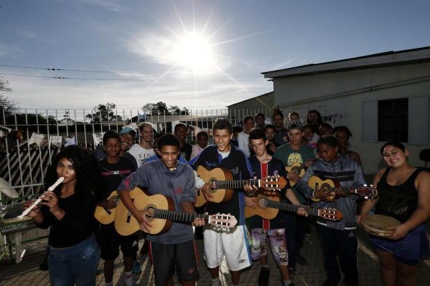 ONG gaúcha promove inclusão social de jovens por meio da música e é contemplada no Criança Esperança Carlos Macedo/Agencia RBS