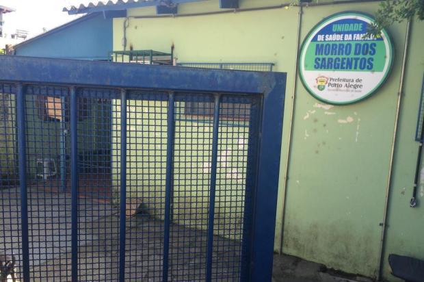 Guerra do tráfico fecha definitivamente posto de saúde na zona sul de Porto Alegre Eduardo Torres/Diário Gaúcho