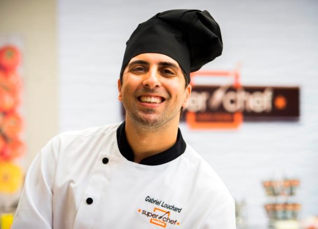 """Gabriel Louchard é o campeão do """"Super Chef Celebridades"""", reality do programa """"Mais Você"""" João Miguel Júnior / Globo/Divulgação/Globo/Divulgação"""
