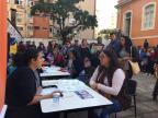 Feirão de empregos atrai centenas de pessoas em Porto Alegre Francine Silva/Rádio Gaúcha/