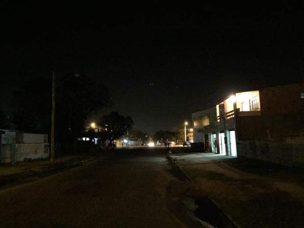 Moradora da Restinga espera conserto de lâmpadas há um ano Arquivo Pessoal / Leitor/DG/Leitor/DG