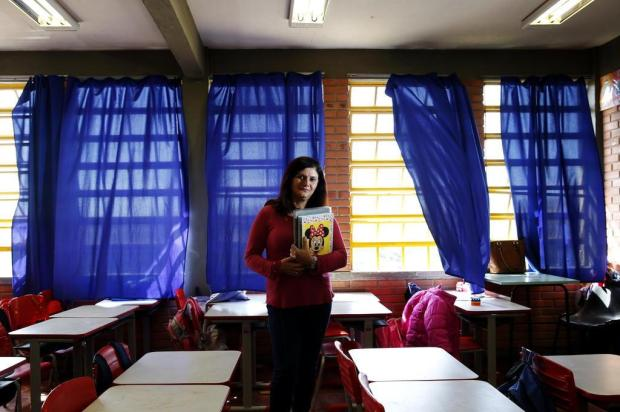 Lição de superação: de funcionária da limpeza a professora, na mesma escola Mateus Bruxel/Agencia RBS