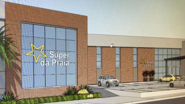 Giane Guerra: Litoral Norte terá novo supermercado de R$ 2 milhões Divulgação Super da Praia./
