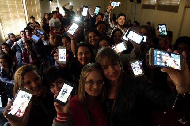 Cinema produzido com celular une alunos de escola pública de Canoas Tadeu Vilani/Agencia RBS