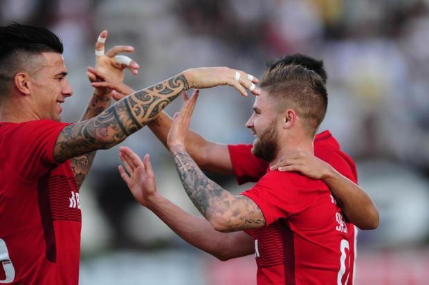 """Zé Victor Castiel: """"Noite para retomar a liderança"""" Ricardo Duarte/Sport Club Internacional"""