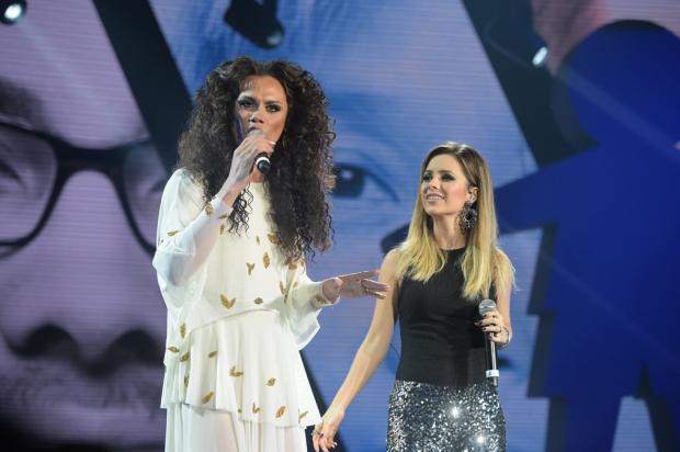 """Sandy e Silvero Pereira emocionam o público no """"Criança Esperança"""" Estevam Avellar / TV Globo/TV Globo"""