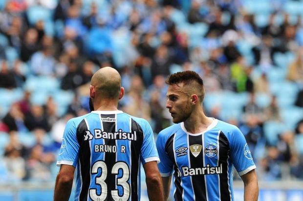 Cacalo: um pontinho conquistado na Arena antes de encarar o Cruzeiro Mateus Bruxel/Agencia RBS
