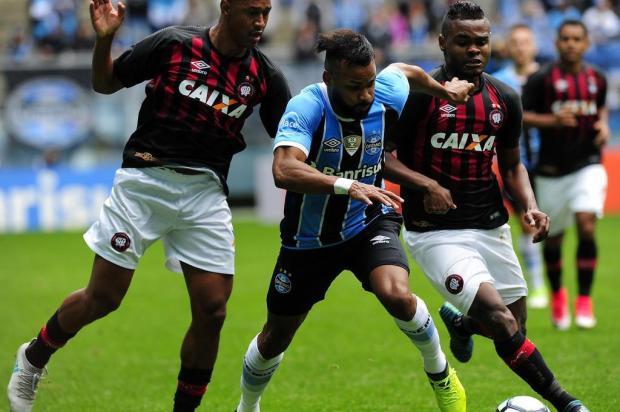 """Luciano Périco: """"Empate sonolento"""" Mateus Bruxel/Agencia RBS"""