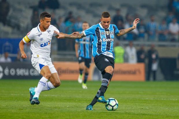 """Luciano Périco: """"Ainda há muitos capítulos na novela Luan"""" Lucas Uebel / Grêmio, Divulgação/Grêmio, Divulgação"""