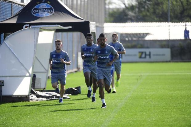 """Cacalo: """"Vencer o Sport é muito importante para disputar liderança"""" Ronaldo Bernardi/Agencia RBS"""